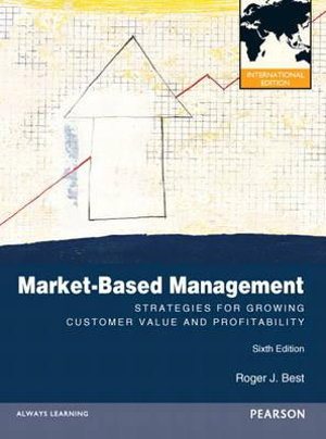 Cover of Market Based Management Pearson International Edition Mechanical