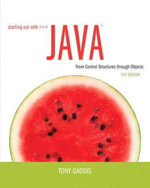 Cover of Starting Out With Java cp