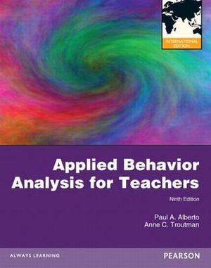 Cover of Applied Behavior Analysis for Teachers