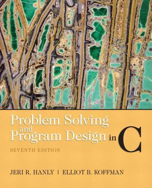Cover of Problem Solving and Program Design in C