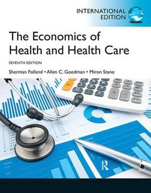 Cover of Economics of Health and Health Care Pearson International Edition       Mechanical Version