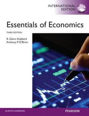 Cover of Essentials of Economics