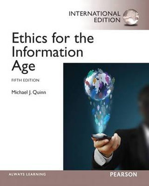 Cover of Ethics for the Information Age Pearson International Eidtion