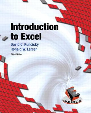 Cover of Introduction to Excel
