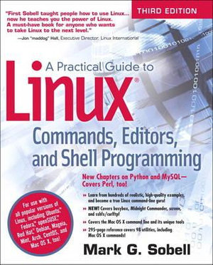 Cover of Practical Guide to Linux Commands, Editors, and Shell Programming, A    Third Edition