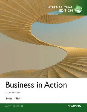 Cover of Business in Action Pearson International Edition