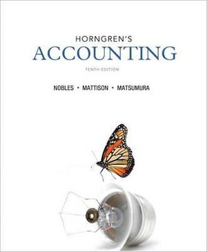 Cover of Horngren's Accounting