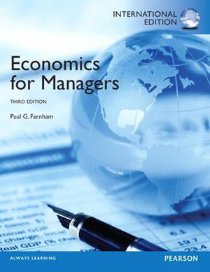 Cover of Economics for Managers Pearson International Edition