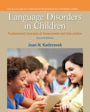 Cover of Language Disorders in Children