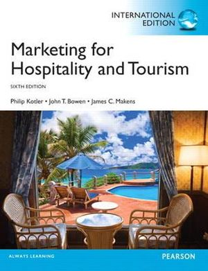 Cover of Marketing for Hospitality & Tourism Pearson International Edition
