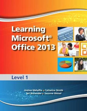 Cover of Learning Microsoft Office 2013
