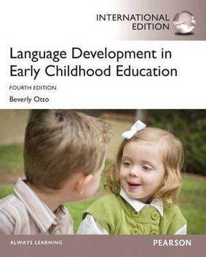 Cover of Language Development in Early Childhood Education