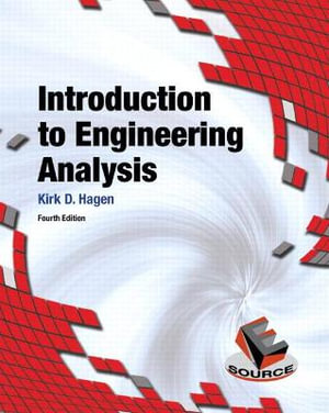 Cover of Introduction to Engineering Analysis