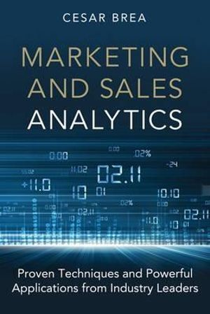 Cover of Marketing and Sales Analytics