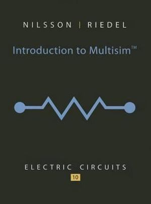 Cover of Introduction to Multisim for Electric Circuits