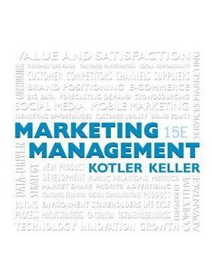 Cover of Marketing Management