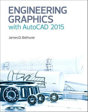 Cover of Engineering Graphics with AutoCAD 2015