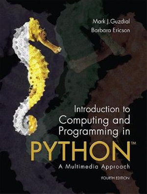 Cover of Introduction to Computing and Programming in Python