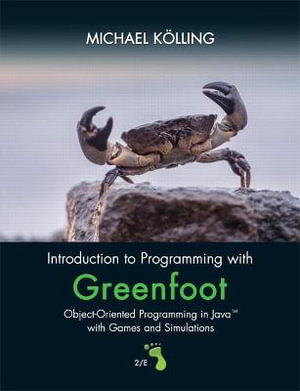 Cover of Introduction to Programming With Greenfoot