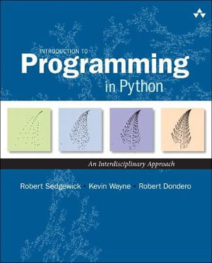 Cover of Introduction to Programming in Python