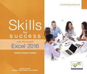 Cover of Skills for Success with Microsoft Excel 2016 Comprehensive