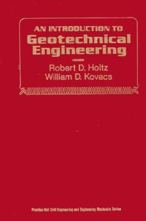 Cover of An introduction to geotechnical engineering