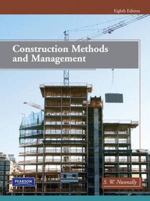Cover of Construction Methods and Management