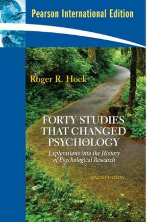 Cover of Forty Studies that Changed Psychology
