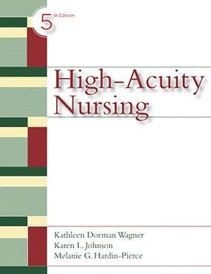 Cover of High Acuity Nursing         cp