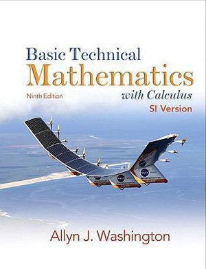 Cover of Basic Technical Mathematics with Calculus SI Version, Canada