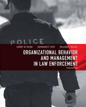 Cover of Organizational Behavior and Management in Law Enforcement