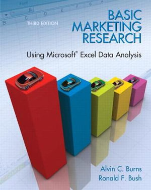 Cover of Basic Marketing Research W/Excel   CP