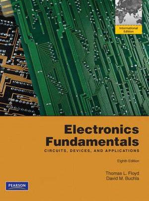 Cover of Electronics Fundamentals