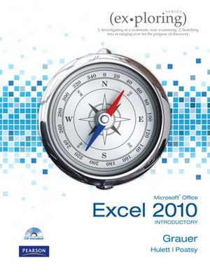 Cover of Exploring Microsoft Office Excel 2010 Introductory