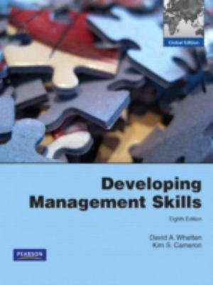 Cover of Developing Management Skills Pearson International Edition Global