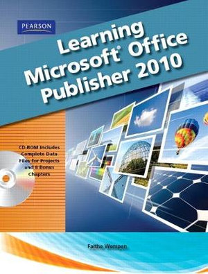 Cover of Learning Microsoft Office Publisher 2010, Student Edition