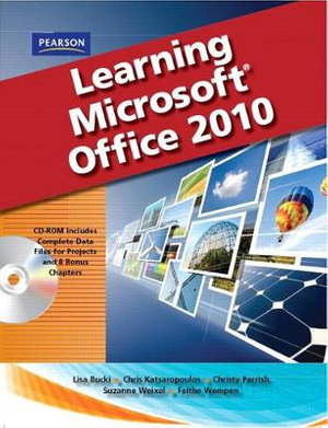 Cover of Learning Microsoft Office 2010, Standard Student Edition