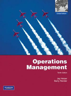 Cover of Operations Management Perason International Edition - Global Edition