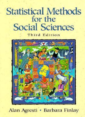 Cover of Statistical Methods for the Social Sciences