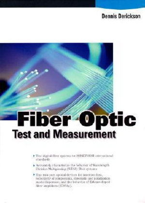 Cover of Fiber Optic Test and Measurement