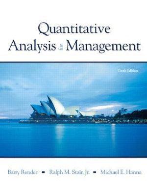 Cover of Quantitative Analysis for Management