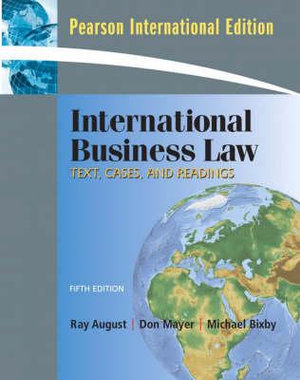 Cover of International Business Law