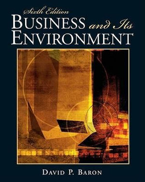 Cover of Business and Its Environment