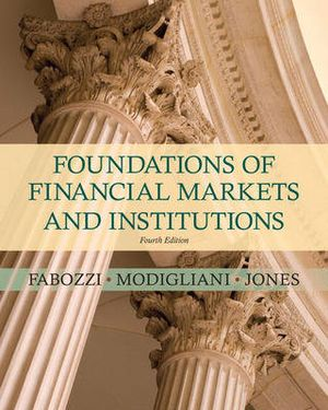 Cover of Found Financial Markets & Instit   cp