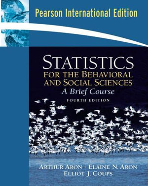 Cover of Statistics for the behavioural and social sciences