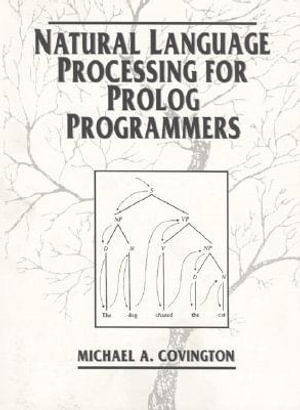 Cover of Natural Language Processing for Prolog Programmers