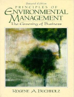Cover of Principles of Environmental Management