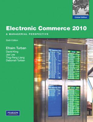 Cover of Electronic Commerce 2010: Pie Global Edition