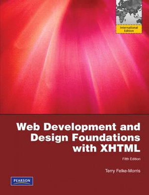 Cover of Web Development and Design Foundations with XHTML