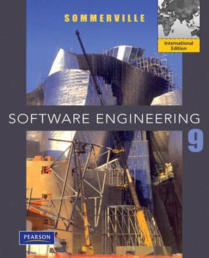 Cover of Software Engineering Pearson International Edition Mechanical Version